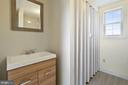 brand new full bathroom - 19100 AIRMONT RD., PURCELLVILLE