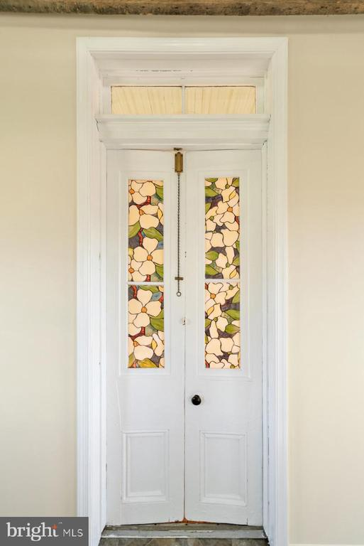 closeup of the old french doors - 19100 AIRMONT RD., PURCELLVILLE