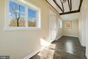 foyer with 2 new  windows - 19100 AIRMONT RD., PURCELLVILLE