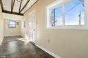 foyer with vaulted ceiling - 19100 AIRMONT RD., PURCELLVILLE