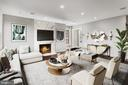 Living Room - 3053 Q ST NW, WASHINGTON