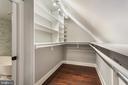 Master Walk-In Closet - 3053 Q ST NW, WASHINGTON