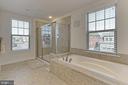 Master Bath - 2451 CONQUEROR CT, DUMFRIES
