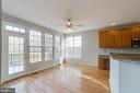 Breakfast nook - 21072 CARTHAGENA CT, ASHBURN