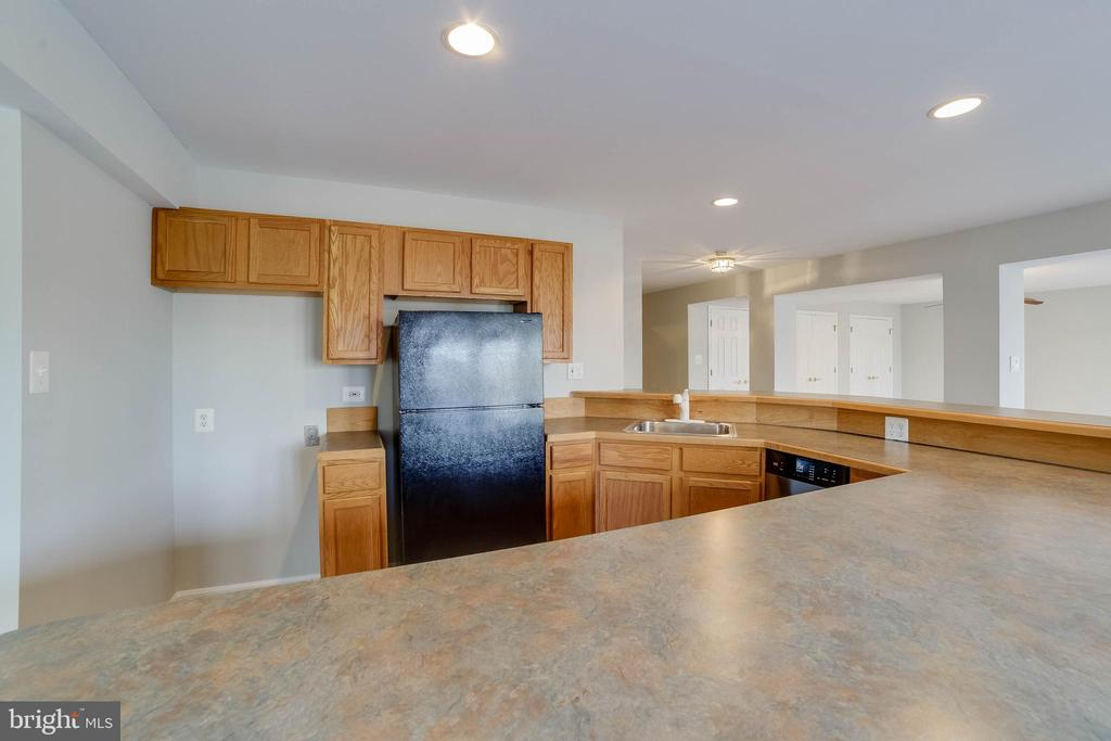 Lower level wet bar - 21072 CARTHAGENA CT, ASHBURN