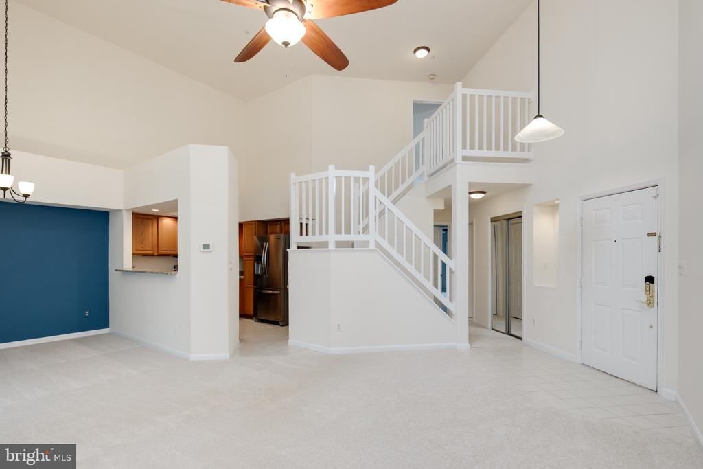 Great open floor plan - 6814 BRINDLE HEATH WAY #257, ALEXANDRIA
