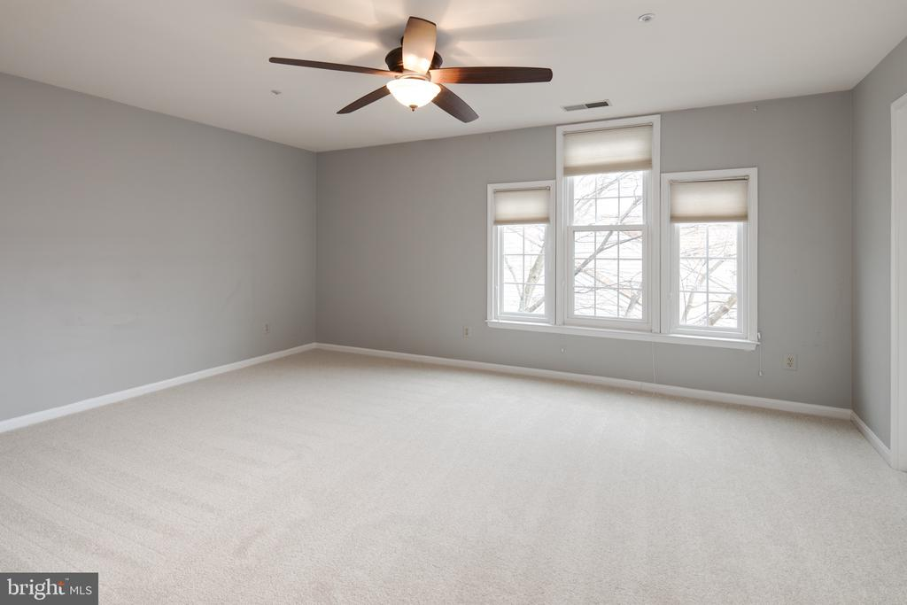 Master suite with walk in closet on both levels. - 6814 BRINDLE HEATH WAY #257, ALEXANDRIA