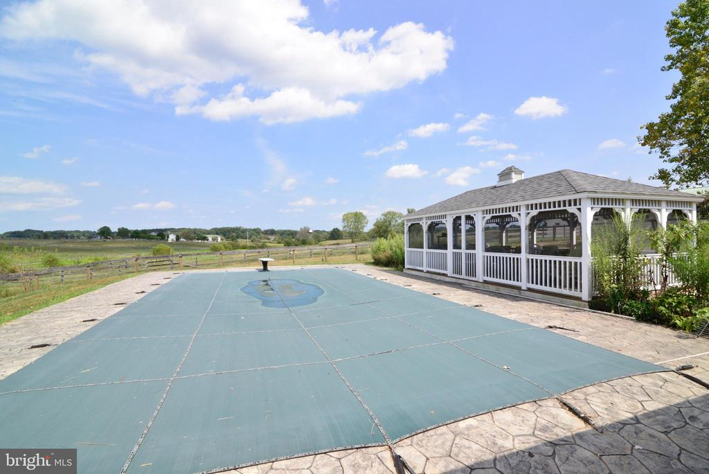 POOLSIDE HERE IS COUNTRY BLISS - 14290 CHAPEL LN, LEESBURG