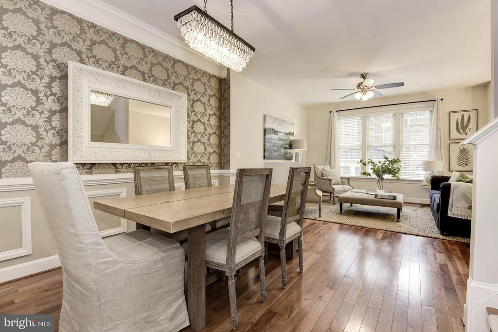 Modern fixture and designer finishes - 2541 S KENMORE CT, ARLINGTON