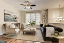 Main level living room - 2541 S KENMORE CT, ARLINGTON