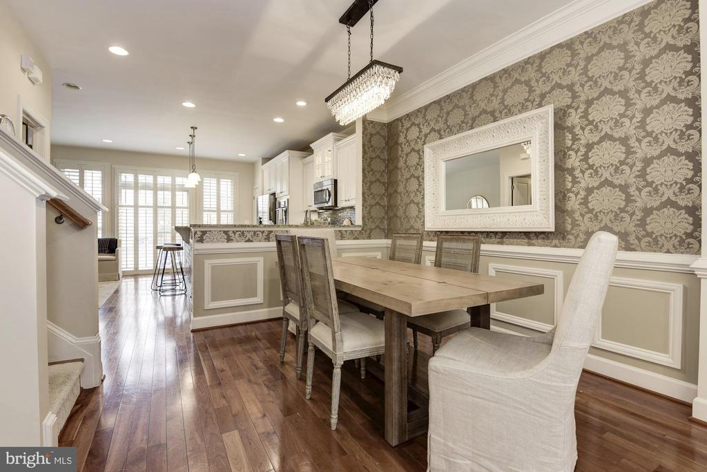 Dining room - 2541 S KENMORE CT, ARLINGTON