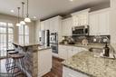 Upgraded kitchen - 2541 S KENMORE CT, ARLINGTON