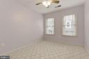 Third bedroom with new carpet - 2541 S KENMORE CT, ARLINGTON