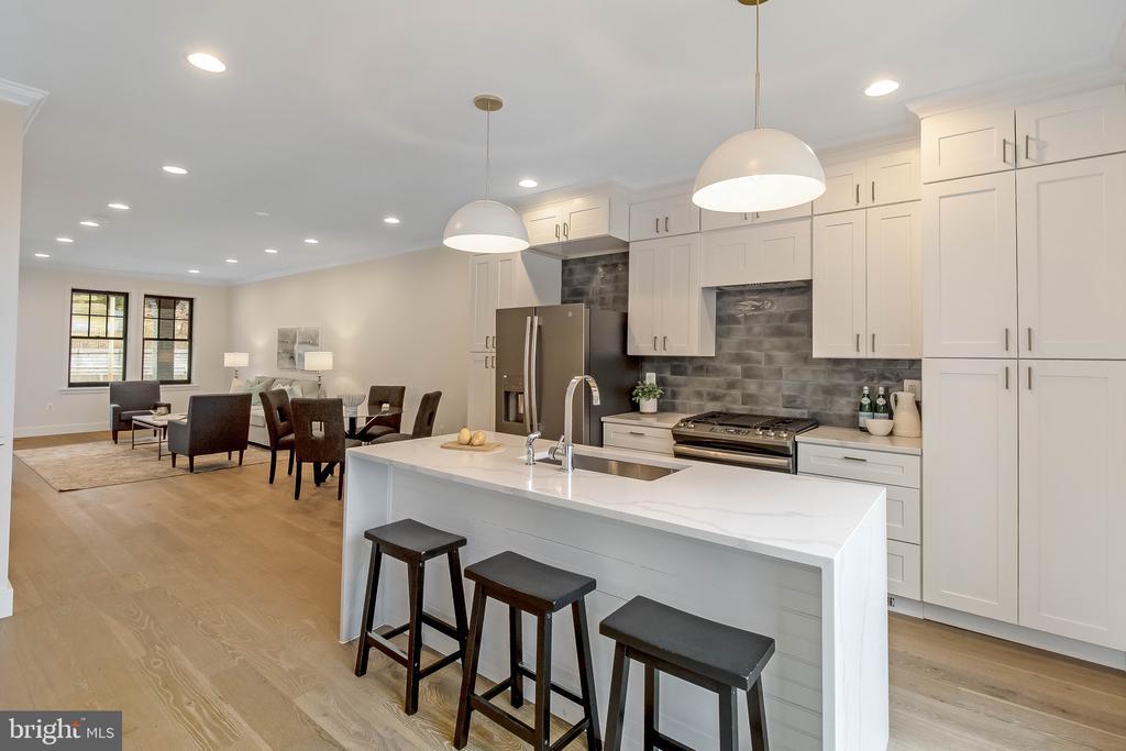 kitchen - 2118 N CAPITOL ST NW, WASHINGTON