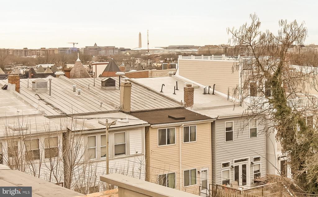 unobstructed Washington monument views! - 2118 N CAPITOL ST NW, WASHINGTON