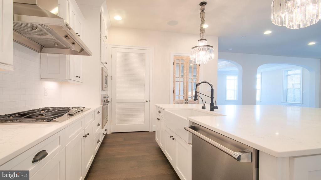 gorgeous kitchen - 314 BALDWIN STREET #314, GAITHERSBURG