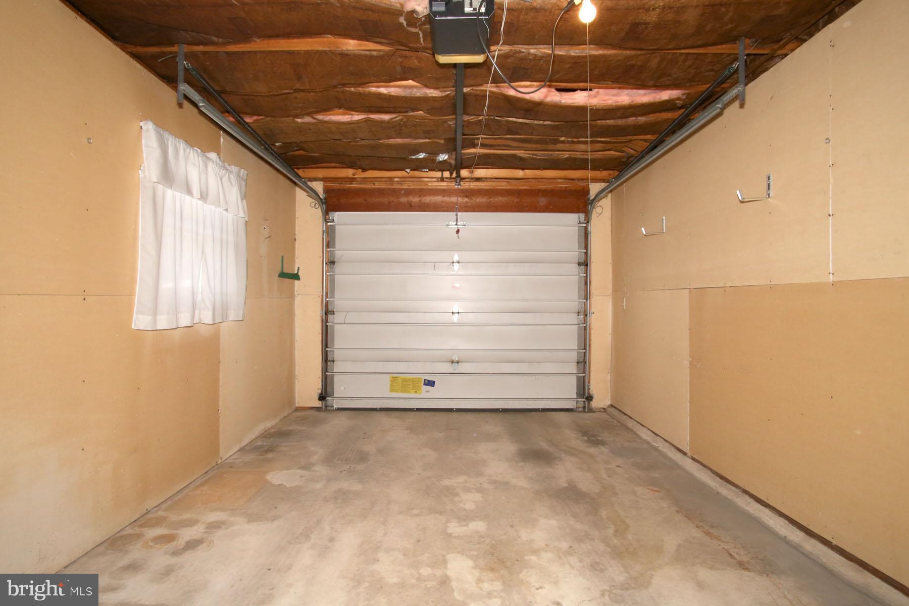 Easy access integral garage
