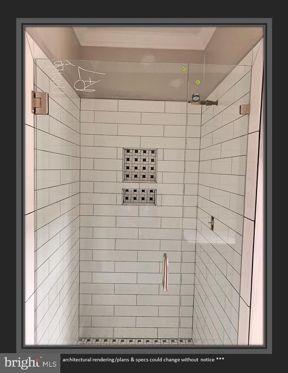 En Suite Bath in BR 2 is Coming Along Nicely - 812 WEEDON ST, FREDERICKSBURG