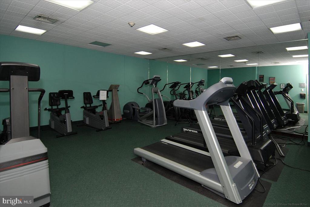 Gym - 5809 NICHOLSON LN #206, NORTH BETHESDA