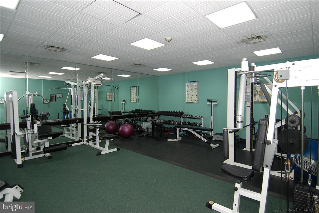 Weight Room - 5809 NICHOLSON LN #206, NORTH BETHESDA
