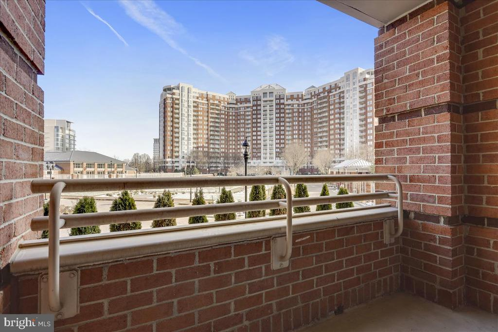 Balcony - 5809 NICHOLSON LN #206, NORTH BETHESDA