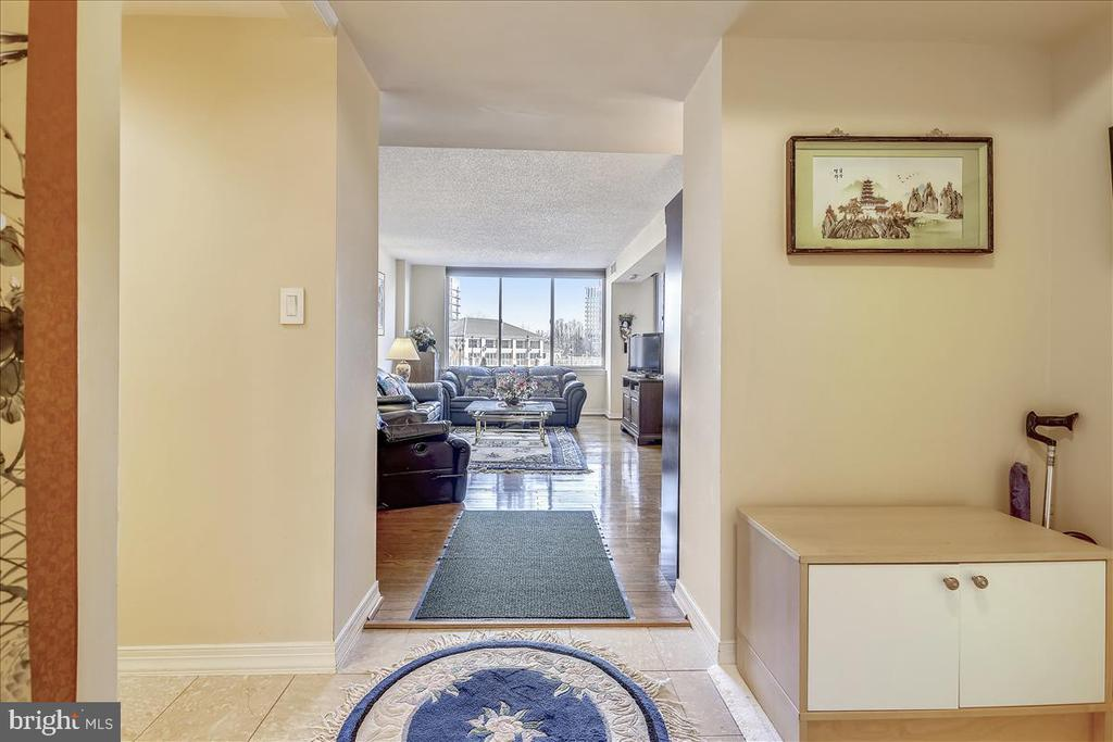 View from the Foyer - 5809 NICHOLSON LN #206, NORTH BETHESDA