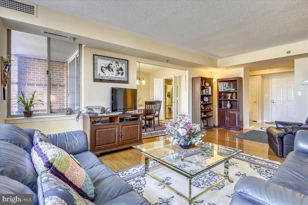 Living Room - 5809 NICHOLSON LN #206, NORTH BETHESDA