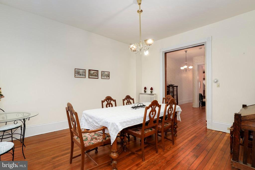 Dining room - 116 E CHURCH ST, FREDERICK