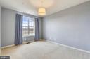 Master bedroom w/overhead light - 43415 MADISON RENEE TER #117, ASHBURN