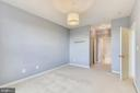 Master bedroom has two closets, 1 walk-in - 43415 MADISON RENEE TER #117, ASHBURN