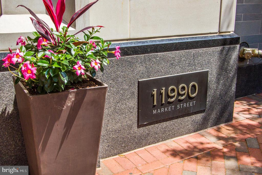 Exterior Building - 11990 MARKET ST #503, RESTON