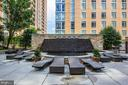 Fountain by pool - 11990 MARKET ST #503, RESTON