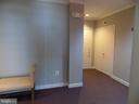 Hallway to condo - 11154 SUMMERS COVE #1C, FREDERICKSBURG