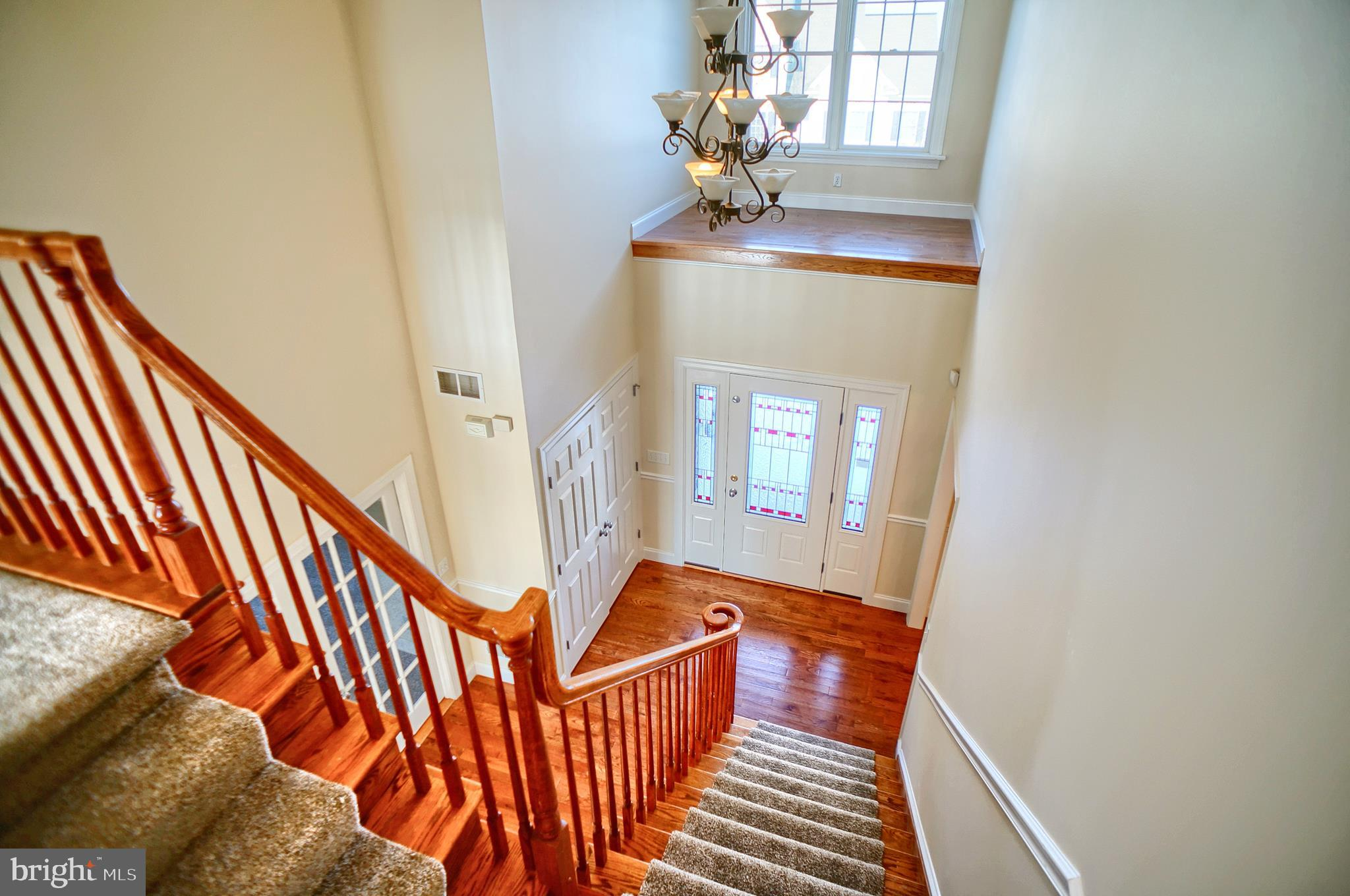 Foyer from 2nd floor hall