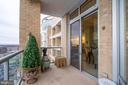 Balcony - 5750 BOU AVE #1809, ROCKVILLE