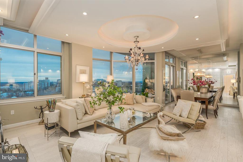 Breathtaking Living Room - 5750 BOU AVE #1809, ROCKVILLE