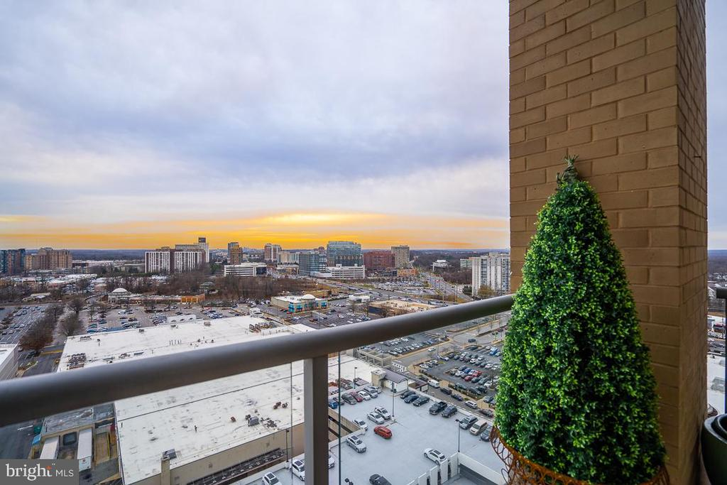 View from Balcony - 5750 BOU AVE #1809, ROCKVILLE