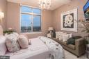 Bedroom with High Ceilings - 5750 BOU AVE #1809, ROCKVILLE