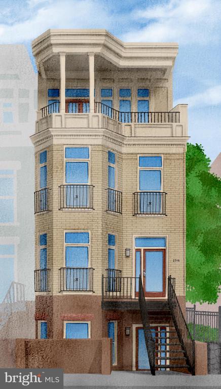 Exterior - 2516 17TH ST NW #3, WASHINGTON