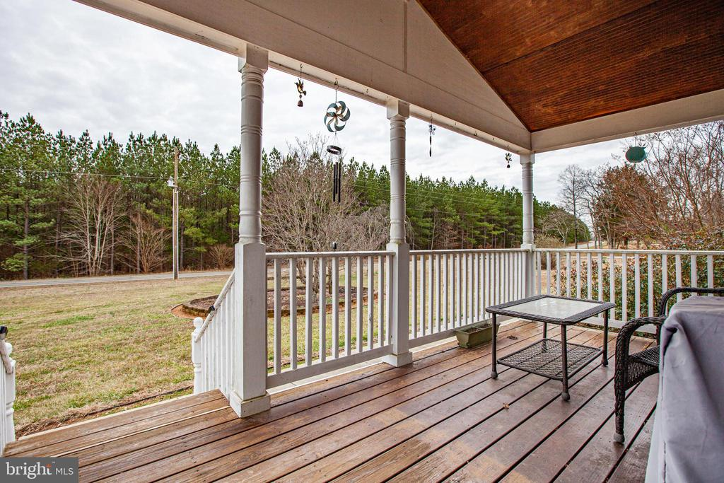 Front Porch View of Road - 873 JOHNSON RD, MINERAL