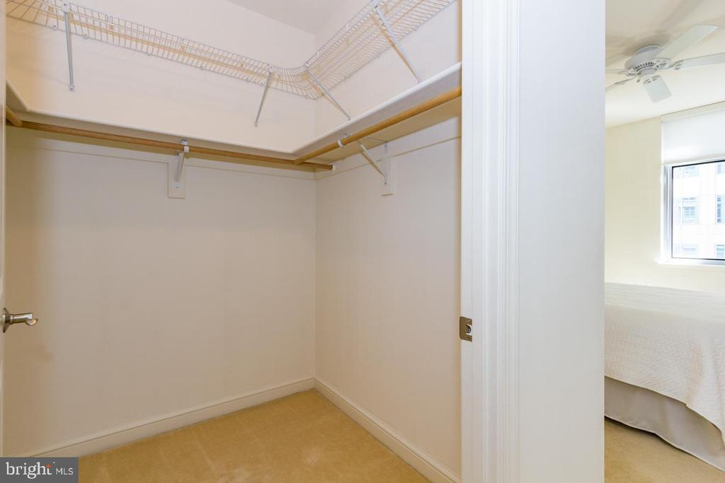 Walk-in Closet - Master Bedroom - 11990 MARKET ST #503, RESTON