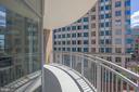 Balcony - 11990 MARKET ST #503, RESTON
