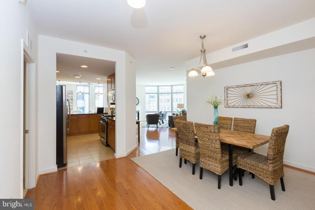Dining Room - Kitchen - 11990 MARKET ST #503, RESTON