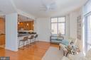 Family Room - Kitchen Island - 11990 MARKET ST #503, RESTON