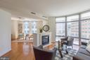 Living Room - Family Room - 11990 MARKET ST #503, RESTON