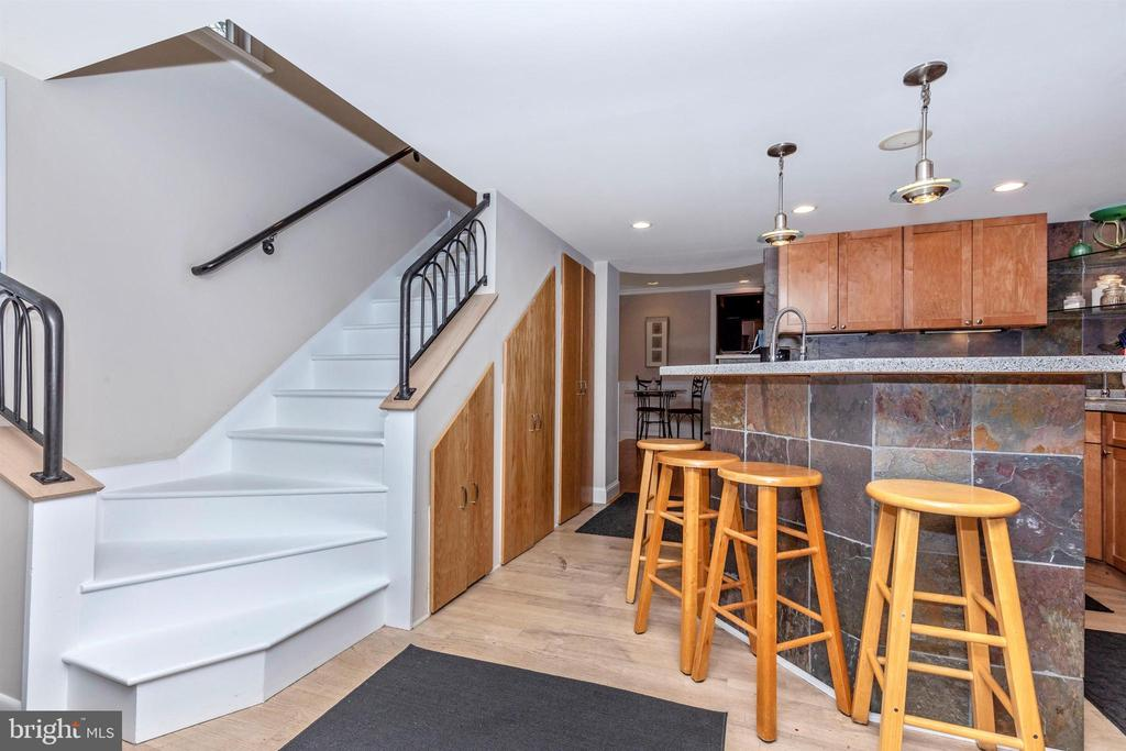 Stairs leading to bedrooms - 2180 S CRISSFORD RD, ADAMSTOWN