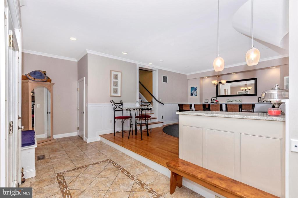 Dining Area. Can also be used as a family room! - 2180 S CRISSFORD RD, ADAMSTOWN