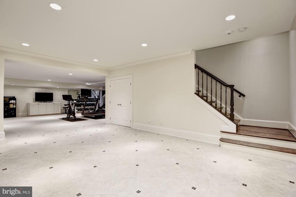 Lower Level Recreation Room - 1049 BROOK VALLEY LN, MCLEAN