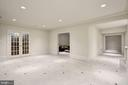 View to Wine Room, Play Room & Exercise/Bonus Room - 1049 BROOK VALLEY LN, MCLEAN