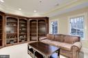 Office with Tray Ceiling - 1049 BROOK VALLEY LN, MCLEAN